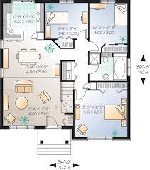 simple starter home plan with options 21250dr architectural