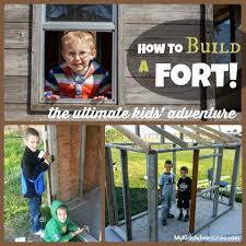 Backyard Forts Kids How To Build A Fort For Your Kids My Kids U0027 Adventures