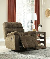 rocker recliner swivel chair antwan truffle swivel rocker recliner from ashley coleman furniture