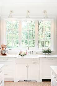 Kitchen Sink Curtain Ideas by Best 25 Window Over Sink Ideas On Pinterest Country Kitchen