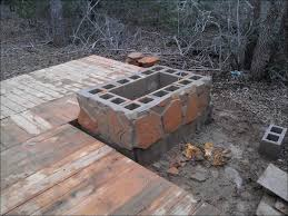 outdoor amazing stone blocks for fire pit inexpensive backyard