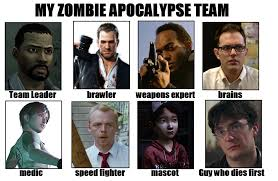 Shaun Of The Dead Meme - rocketeer raccoon s zombie apocalypse team my zombie apocalypse