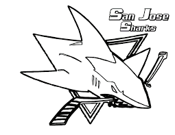 wild shark coloring pages womanmate