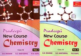 pradeep u0027s new course chemistry for class 11 set of 2 volumes