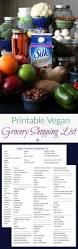 Word Grocery List Template Free Printable Vegan Grocery Shopping List Vegan Freezer