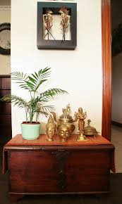 my brass collection with indonesian leather puppets brass lamps hemal loves warm colors and interesting play of textures which comes out beautifully in her house she also does not like her house to be picture perfect