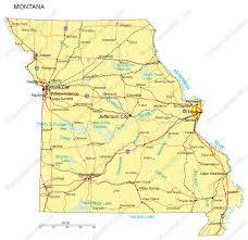 missouri map cities missouri powerpoint map counties major cities and major highways