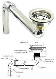 sink drain pipe kit kitchen sink drain kit and dishwasher plumbing kit beautiful