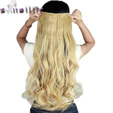 Blonde Hair Extensions Clip In by Online Buy Wholesale 24 Inch Clip In Human Hair Extensions From