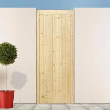 Exterior Pine Doors Ledge And Brace Doors Exterior Doors By Type