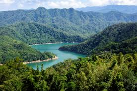 Thousand Islands by Thousand Island Lake Taiwan Thousand Island Lake Taiwan