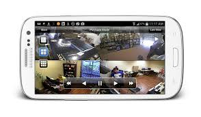view security cameras from android