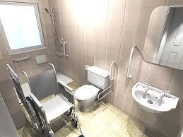handicap bathrooms designs vibrant idea handicap accessible bathroom designs 1 the