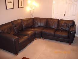 Dfs Leather Sofa Dfs Brown Leather 5 Seater Corner Sofa On Gumtree Dfs Brown