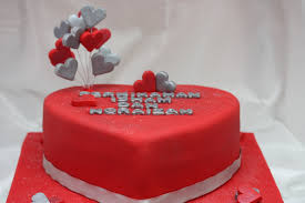 Red Silver Wedding Cake Opulent Cakes For All Occasions