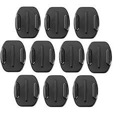 black friday amazon gopro accessories amazon com afaith 10 pack of 3m flat adhesive mounts for gopro