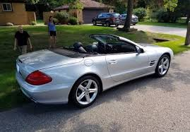 mercedes of bloomfield 2004 mercedes sl500 in bloomfield michigan stock