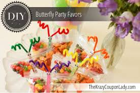 butterfly party favors butterfly snack bag party favors the krazy coupon