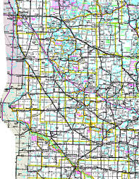 map mn official minnesota state highway map