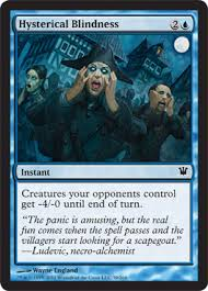 Hysterical Blindness Definition Innistrad Frequently Asked Questions Magic The Gathering