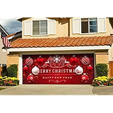 amazon com christmas red and white ornaments on red holiday