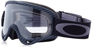 motocross goggles review amazon com oakley o frame mx goggles with clear lens black