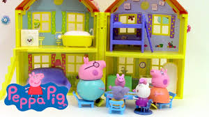 maison de peppa pig de luxe pâte à modeler play doh peppa pig