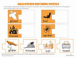 halloween rhyming words rhyming words kindergarten phonics and