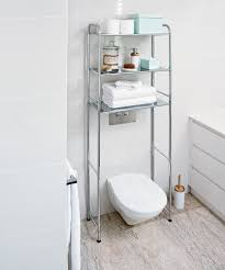 Over The Toilet Bathroom Storage by Over The Toilet Chrome Storage Rack 89 95 Available At Howards