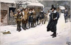 when massachusetts banned christmas history in the headlines