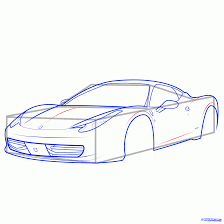 sports cars drawings 10 how to draw a sports car