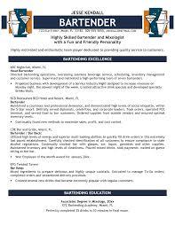 examples of bartender resumes cv sample uk and resume samples