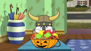 max and ruby costumes for halloween trick or treat house clipart collection