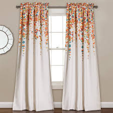 Curtain Pair Weeping Flower Room Darkening Window Curtain Pair Lush Decor
