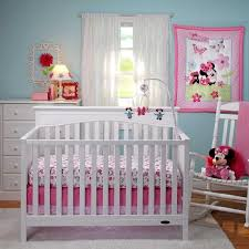 minnie mouse crib bedding set interesting red and white mickey