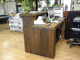 Buy Reception Desk by Reclaimed Wood Reception Desk Shop Pinterest Reception Desks