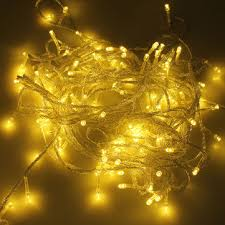 500 led 50m warm white string decoration light for christmas party