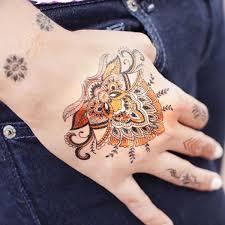 skin couture henna tattoo pack tattoo sticker
