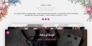 Wedding Cards Invitation Wedding Card Invitation Wordpress By Themesmile Themeforest