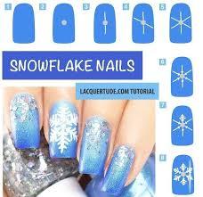 best 25 snowflake nails ideas on pinterest snowflake nail art