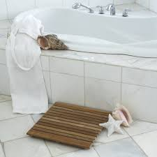 Teak Shower Mat Furniture Amazing Shower Room With Brown Laminated Wooden Mat