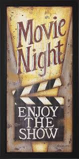 Media Room Decor Red U0026 White Popcorn Box Wall Plaque Movie Rooms Basements And Room