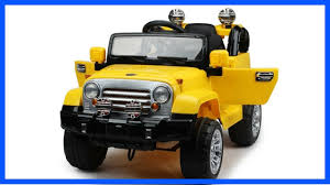 toy jeep for kids ride on power wheels jeep style jj245 yellow ride on car for kids