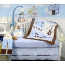 Rock N Roll Crib Bedding Soho Baby Rock N Roll Band Nursery Bedding Set 6 Pcs