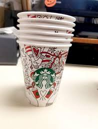 starbucks u0027 christmas cup design has already leaked online and not