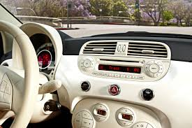 fiat 500 shifting gears