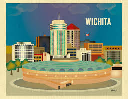 Kansas destination travel images Wichita kansas kansas travel posters and vintage travel jpg