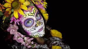halloween background sugar skulls hd sugar skull wallpaper wallpapersafari