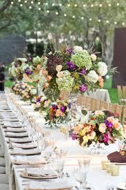 composition florale mariage décoration florale pour table idées mariages en automne
