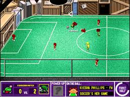 backyard soccer league pc tournament game 1 welcome fishies